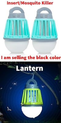 New EZ Zap 2-pack Portable Lantern & Insect Killer 55 km