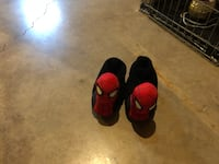 super cool glow in the dark spider man slippers for kids Kitchener, N2C 1G2