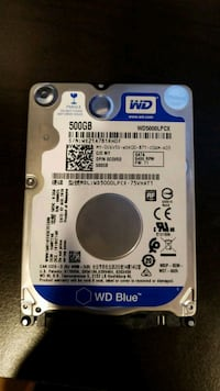 Brand New WD Blue 500gb laptop Hard drive Frederick, 21704