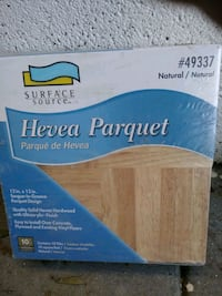HEVEA PARQUET FLOORING STILL FACTORY WRAPPED