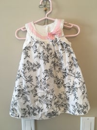 Adorable 12 month dress and matching jacket. EUC. Pick up in St. Albert