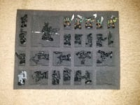 Ork army with citadel case