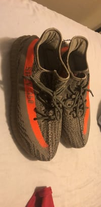 pair of black Adidas Yeezy Boost 350 Gwynn Oak, 21207