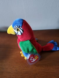 TY Beanie Baby  JABBER  the parrot