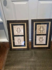 two brown wooden framed paintings Guelph, N1G 3Z9