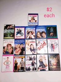 Movies $2 each Winchester, 22603
