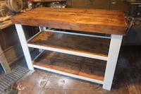 Custom Made Kitchen Island Maple Ridge