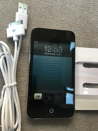 Black iphone 4 with charger Bakersfield, 93301