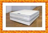 Queen mattress double pillowtop free box & ship Ashburn, 20147