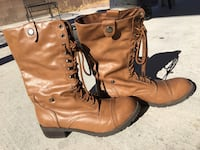 Brown Leather Boots - Size 10 Las Vegas, 89113