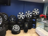 Brand new used tires and rims available Brampton, L6R 3M6