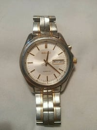 SEIKO Kinetic Watch link bracelet Calgary, T2B 1M3