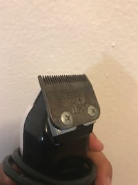 Black and gray corded hair clippers 2282 mi