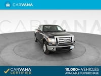 2012 Ford F150 Super Cab pickup XLT Pickup 4D 6 1/2 ft Black <br Petersburg
