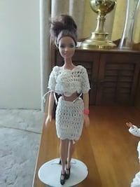 Handmade crochet outfit and barbie doll Las Vegas, 89121