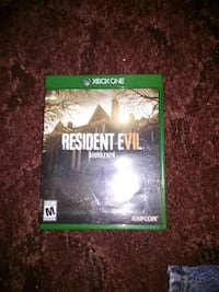 Xbox One Resident Evil game case Verbena, 36091
