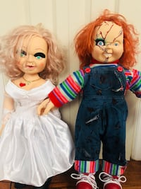 Chucky dolls. Bought both for $100, selling both for $50 or $30 for just one Joliet, 60435