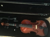 Strobel Violin 4/4 with carrying case, 2 bows, and shoulder resr Chesapeake, 23320