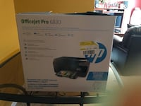HP office jet pro 6830 , printer, scan , fax all in one . Just bought it , it has a printhead problem, can be solved , scan and Gainesville, 20155