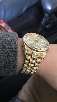 Iced out Jordan watch! Sapphires  Coopersville, 49404