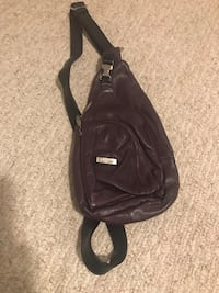 Grape (purple) over the shoulder purse