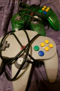 2 N64 CONTROLLERS  Buena Park, 90620