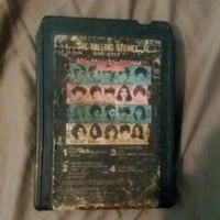 Rolling stones 8 track tape rare D'Iberville, 39540