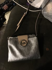 Black michael kors leather tote bag 378 mi