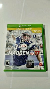 XBOX ONE MADDEN NFL 17 DELUXE EDITION Pittsburg, 94565