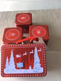 4 new tin cans for holiday gifts Laval, H7X 3R8