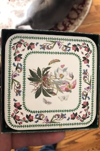 Six corked back coasters from Portmeirion Ancaster, L9G 4M5