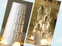 Brand new table lamp and pack of LED lights  Toronto, M3C 3A3
