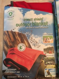 NEW Insect shield Outdoor Blanket