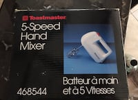 5 Speed Hand Mixer  Brampton, L6Z