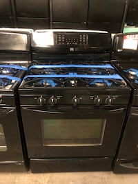 KENMORE five burners gas stove