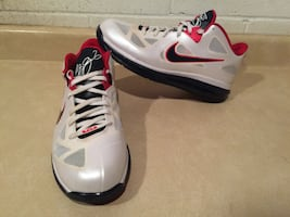 Men's Size 11 LeBron 9 Low USA Olympic Sneaker Basketball Shoes