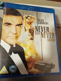 Never say Never again Blu-ray movie