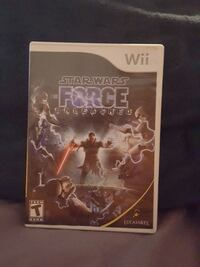 star wars force unleashed nintendo wii game Wauconda, 60084