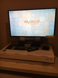 Selling my proscan 32'' brand new and the tv table Winnipeg, R2K 1P7