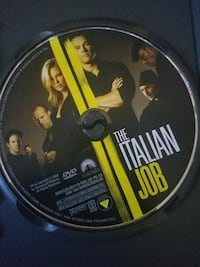 The Italian Job DVD disc
