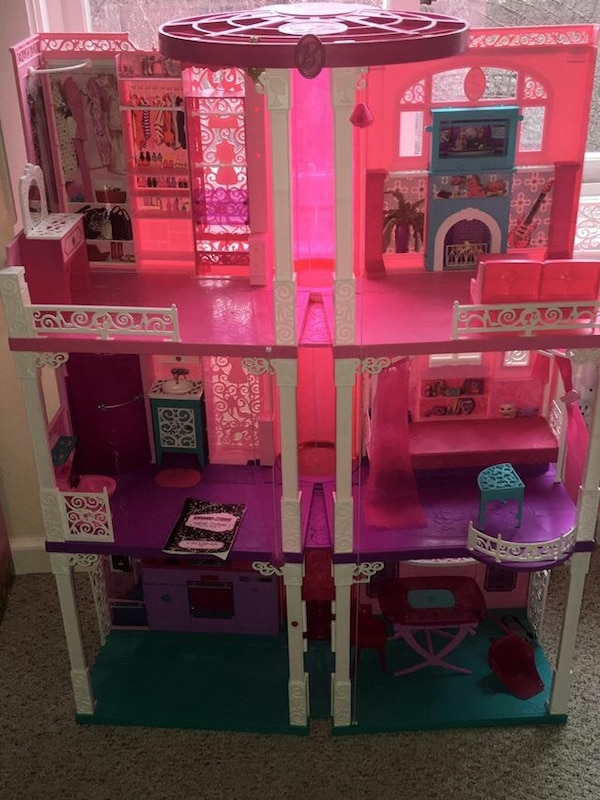 Used Barbie Dream House With Elevator For Sale In Bellevue Letgo