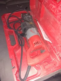 red and black Hilti corded power tool Edmonton