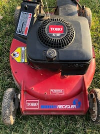 "22"" TORO SELF PROPELLED RECYCLER LAWN MOWER 5HP"