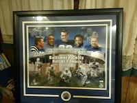 Baltimore colts  hall of famers picture