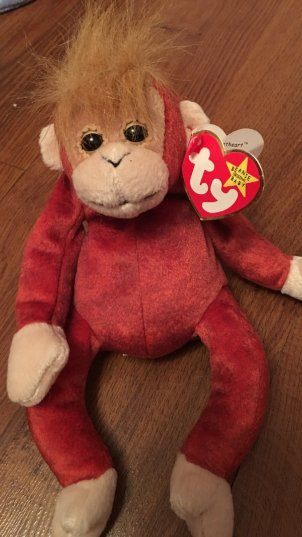 Used Schweetheart TY beanie baby for sale in Bolton - letgo 08711d39e9