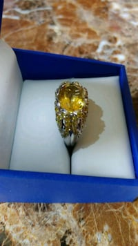 CITRINE AND YELLOW SAPPHIRES RING Citrus Springs, 34433