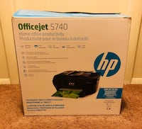 HP OfficeJet 5740 Wireless All-in-One Photo Printer NEW in bow Never used Etters, 17319
