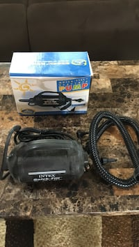 black and blue Makita angle grinder with box Belleville, 53508