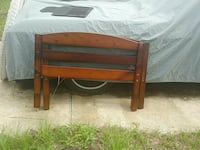 brown wooden headboard and footboard Inverness, 34453