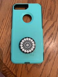 teal and black iPhone case Hudson, 03051